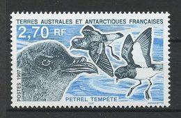 TAAF 1997 N° 214 ** Neuf MNH Superbe Faune Oiseaux Pétrel Tempête Birds Fauna Animaux - Terres Australes Et Antarctiques Françaises (TAAF)