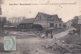 RARE (80) Lieu Dieu BEAUCHAMPS (996 H) . Les Ateliers De Mécanique VASSELIN FERAMUS - Autres Communes