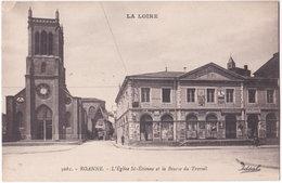 42. ROANNE. L'Eglise St-Etienne Et La Bourse Du Travail. 5061 - Roanne