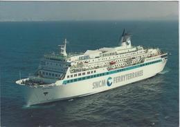 ESTEREL.   -   Paquebot Transbordeur  -   SNCM & FERRYTERRANEE - Dampfer