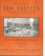 44  NANTES No 171et 172   LES ANNALES DE NANTES  1974         LA PAROISSE  ET  LE  QUARTIER  ST  NICOLAS - Tourisme & Régions