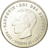 Belgique, 250 Francs, 250 Frank, 1976, SUP, Argent, KM:157.1 - 10. 250 Francs