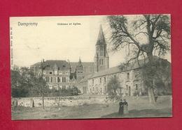 C.P. Dampremy  =   Château  Et Eglise - Charleroi