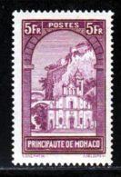 Monaco 1933 Yvert 132 * TB Charniere(s) - Monaco