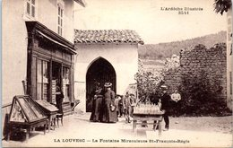 07 LA LOUVESC - La Fontaine Miraculeuse St François Régis      * - La Louvesc