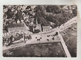 CPSM BENODET (Finistère) - Vue Aérienne Le Port Et L'Eglise - Bénodet