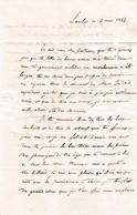 1846 LAMBESC - L. à Gustave TRONE, élève Au PETIT SÉMINAIRE De GRENOBLE - Historical Documents