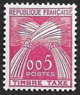 TAXE  N°  90 -  Timbre-Taxe Gerbes  005 - NEUF** - 1859-1955 Neufs