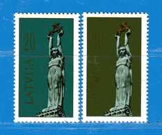 (MN1) LETTONIA **- 1991 -  YVERT. 279-280 .  MNH. - Lettonia