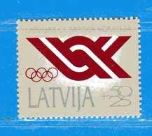 (MN1) LETTONIA **- 1991 - Création Du Comité Olympique Letton YVERT. 283 .  MNH. - Lettonia