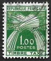 TAXE  N°  94 -  Timbre-Taxe Gerbes  1.00 - Oblitéré - 1859-1955 Used