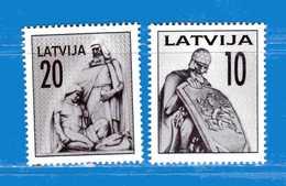 (MN1) LETTONIA **- 1992 - MONUMENTS.- YVERT. 290-291 .  MNH. - Lettonia