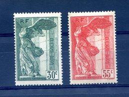 France N°354 Et 355 (Samothrace) - Neuf* - Cote 170€ - (F707) - Nuovi