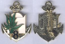 Insigne Du 8e Régiment D'Infanterie De Marine ( Réserve ) - Armée De Terre