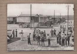 CPSM 11 - GRUISSAN - Gruissan Plage - Partie De Pétanque Devant Les Châlets Sur Pilotis ANIMATION Partie De Boules 1957 - Sonstige Gemeinden