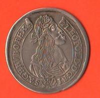 15 Kreuzer 1665 Ungheria Hunghary 15 Kraitzar Leopold I°  Hongrie - Ungheria