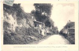 SAINT PIERRE DE MAILLE  La Route De Saint Pierre à Vicq Vue Prise à La Tuilerie  Timbrée  Exellent état - Frankrijk