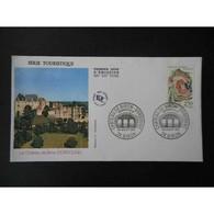 FDC - Château De Biron - 4/7/1992 - 1990-1999