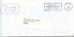 LOIRE ATLANTIQUE De PORNICHET Flamme En P.P. Theme Basket Ball Sur Env. De 1992 - Postmark Collection (Covers)