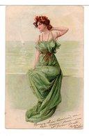 CPA - JEUNE FEMME - Künstlerkarten