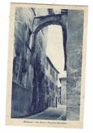 2612 - MONTONE PERUGIA VIA ROMA PENSIONE MARCHETTI 1920 CIRCA - Italy