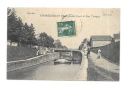 CHARENTENAY HAUTE SAONE CANAL ET PONT TOURNANT - Francia