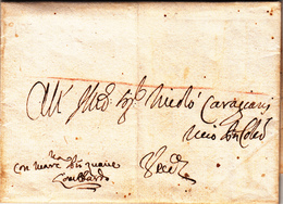 Venezia, Comunicazioni Con L'Impero Ottomano. Corfù Per Venezia. Lettera Con Contenuto 1739 - ...-1861 Prephilately