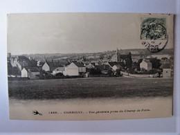 FRANCE - NIEVRE - CORBIGNY - Vue Générale Prise Du Champ De Foire - 1907 - Corbigny