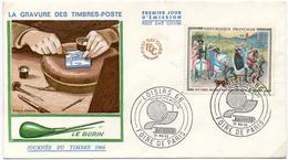 France N° 1457 Y. Et T. Paris Cachet Commémoratif Foire De Paris Du 30/05/1966 - Postmark Collection (Covers)