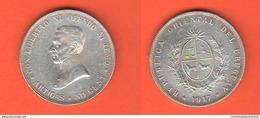 Uruguay 50 Centimos 1917 Artigas - Uruguay