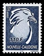 NOUV.-CALEDONIE 2006 - Yv. 968 **   Faciale= 0,92 EUR - Oiseau Le Cagou 110f Bleu-noir  ..Réf.NCE25592 - Nieuw-Caledonië