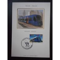 CM Soie - TRAM, Train - 18/11/2006 Pavillons Sous Bois - Cartes-Maximum