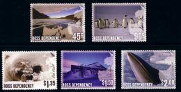 ROSS DEPENDENCY 2005 Photographs Of Antarctica Set Of 5v** - Nuovi