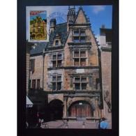 Carte Premier Jour - Sarlat La Canéda - Oblit 29/3/08 Paris - 2000-09