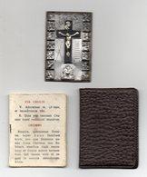 Placchetta In Alluminio Gesù - Via Crucis - (5,50 X 3,50) - In Rilievo - Con Custodia E Libretto - Vedi Foto - (MW2733) - Italia