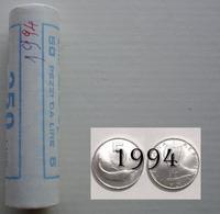 ROTOLINO 5 LIRE 1994 DELFINO NOT BLIND DATA VISIBILE - 1946-… : República