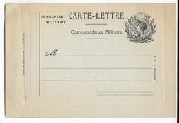 1914/18 - CARTE-LETTRE FM - Ed MARSEILLE - ECRITE MAIS NON VOYAGEE - Marcophilie (Lettres)