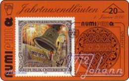 AUSTRIA Private: *Numiphil '00 - Pummerin* - SAMPLE [ANK F474] - Oesterreich