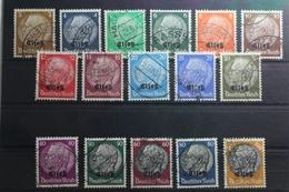 Deutsche Besetzung 2. WK Elsass 1-16 Gestempelt #TP734 - Besetzungen 1938-45