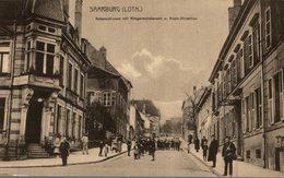 57 Saarburg, Schanzstrasse Avec Bürgermeisteramt - Sarrebourg