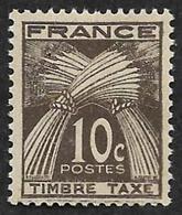 TAXE  N°  78 -  Timbre-Taxe Gerbes  10c - NEUF** - 1859-1955 Neufs