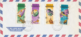 BURUNDI FDC 1965 - 1962-69: Used