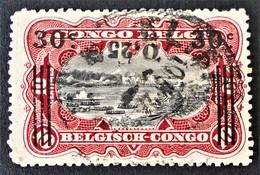 SURCHARGE 1921 - OBLITERE - YT 89 - MI 61 - Belgisch-Kongo