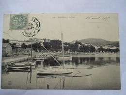 CONVOYEUR   LES  ARCS  A  MARSEILLE     -      BANDOL    ......  Pte  FENTE - Marcophilie (Lettres)