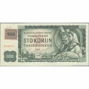 TWN - CZECH REPUBLIC 1K - 100 Korun Ceskych 1961 (1993) Series G 96 - Adhesive Stamp On CZECHOSLOVAKIA 91c UNC - Repubblica Ceca