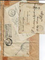 Lot4-bon Pour Un Paquet En TB état Voir 2 Scan - Franchise Militaire (timbres)