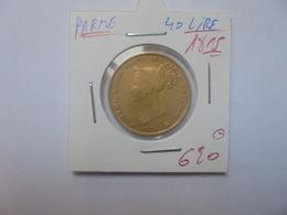 PARME 40 LIRE OR 1815 (A.3) - Monnaies Régionales