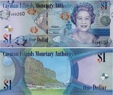 CAYMAN IS.        1 Dollar       P-38c       2010       UNC  [ Prefix: D/3 ] - Islas Caimán