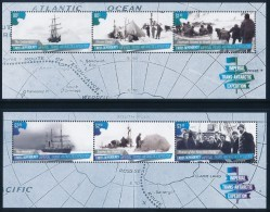 ROSS DEPENDENCY 2015 - Imperial Trans-Antarctic Expedition, 2 Minisheets** - Nuovi