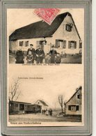 CPA - NIEDERNAI (67) - NIEDEREHNHEIM - Carte Multivues De 1910 - Restaurant à L'Etoile Et Train Ottrott-Erstein - Francia